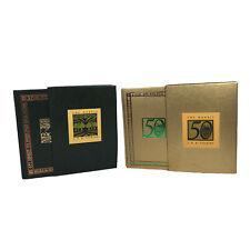 The Hobbit J.R.R. Tolkien 50th Anniversary Houghton Mifflin in GOLD w/ Slipcase