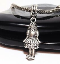 LITTLE GIRL_Bead for European Charm Bracelet_Daughter Sister Child Family_i24
