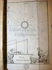 FISICA: Ab. Nollet, TRATTATO ELETTRICITA' 1747 Venezia 1a ediz ITA con Tavole