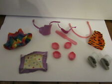 Vintage  My Little Pony Figure Accessories Clothes, Shoes, saddle, Tiger  Outfit