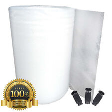 More details for 10mm triple laminated greenhouse bubble insulation + free clips   750mm wide