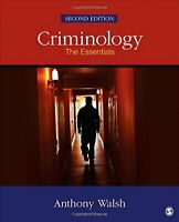 Criminology: The Essentials by Walsh, Anthony Book The Fast Free Shipping
