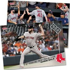 2017 Topps Now #632 1ST AL PITCHER SINCE 1999 WITH 300 KS IN A SEASON CHRIS SALE