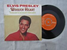 ELVIS WOODEN HEART / TONIGHT IS SO RIGHT FOR LOVE rca 2700 picture sleeve