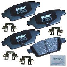Disc Brake Pad Set-Premium Copper Free Ceramic BPR Disc Brake Pad Rear Bendix