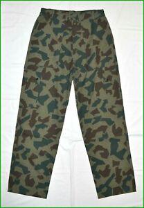 Bulgarian Army Splinter Camouflage Trousers Pants sz. 46
