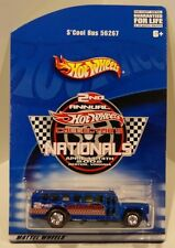 2002 Hot Wheels 2nd Nationals/Convention S'Cool Bus Funny Car w/ RL/RR