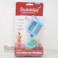 Spinning Hat SH01418 Rockabilly Portable Mic Speaker Blue