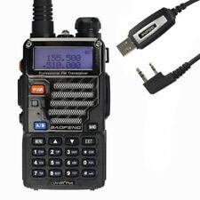 BaoFeng * UV-5R Plus * + USB Kabel 2M/70cm Dual Hand-funkgerät Amateur-funk
