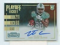 LEONTE CARROO 2016 Panini Contenders Playoff Ticket Rookie Auto #D /199