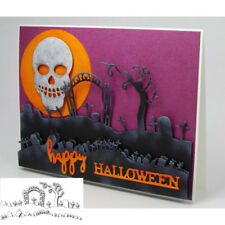 Halloween Grave Cross Cutting Dies Stencil Scrapbooking Album Embossing DIY