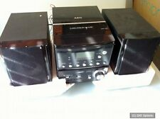 AEG MC 4431 CD - Microsystem, Schwarz, CD-RW, CD-R, DEFEKT, NOT WORKING