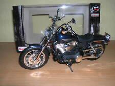 Maisto Harley-davidson 2006 Fxdbi Dyna Street Bob Azul Oscuro Met, 1:12 Moto