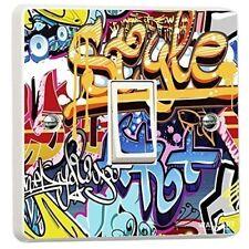 Street Art Graffiti Single Light Switch Cover Vinyl Sticker