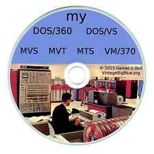 IBM Mainframe OS on PC DOS360-DOSVS-MVS-VM370-MTS-MVT  351*SOLD   FORTRAN  COBOL