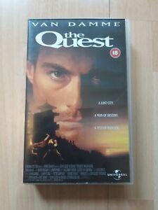 THE QUEST - Big Box - Video  - Van Damme - Martial Arts  - Ex-Rental - Pal VHS