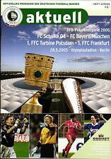 DFB-Pokalendspiel 2005 FC Schalke - FC Bayern München, 28.05.2005