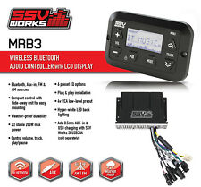 SSV Works MRB3 Dash Panel Mount BLUETOOTH Media Controller w/ Amplified Power
