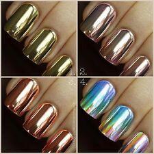 Chrome NAIL powder PIGMENT color silver Mirror Chrome extacly like photos