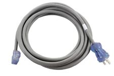 20ft Medical Grade Power Cord NEMA 5-15P to a Right Angle IEC C13 by AC WORKS™