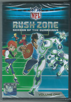 NFL Rush Zone: Season of the Guardians, Vol. 1 (DVD, 2013, Widescreen) 🎥🎥🎥