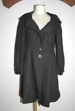 HELENA SOREL manteau gris taille 38