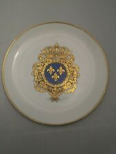 Collector Plate COAT OF ARMS OF LOUIS XIV New Orleans Louisiana Ormond Pottery