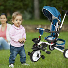 Kids+Baby+Tricycle+Stroller+6+in1+Bike+3+Wheels+Canopy+for+Toddler+Outdoor+Ride+