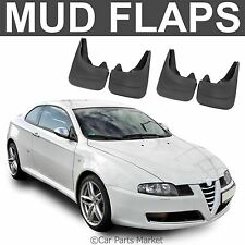 Mud Flaps Splash guard for Alfa Romeo GT Coupe Brera set of 4x front and rear