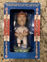 "MIKE SCHMIDT BOBBLEHEAD, Bobble Dreams USA, Reading Phillies ""Schmitty"", New"
