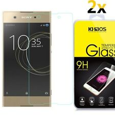 2-Pack Khaos For Sony Xperia XA1 Plus 5.5-inch Tempered Glass Screen Protector