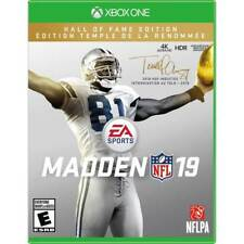 Madden NFL 19: Hall of Fame Edition - Xbox One (FACTORY SEALED) NEW