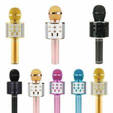 BT Karaoke Mikrofon Drahtlose Handmikrofon Mikrofon mit Lautsprecher H0O9