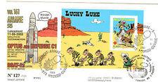 KOUROU  VOL 161 ARIANE LANCEMENT 11. 06. 2003 LUCKY LUKE