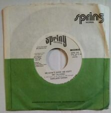 GARLAND GREEN He Didn't Know (He Kept On Talking) 7 45 Northern Soul Promo Mono