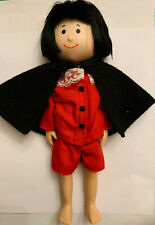 """Madeline and Friends Pepito 8"""" Doll with Cape and Red Shirt and Shorts Eden"""
