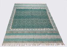 Area Rug Indian Dari Rug Handmade Carpet Runner Fringe Home Modern Rug Floor Rug