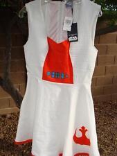 NWT STAR WARS REBEL ALLIANCE DRESS COSTUME SZ LARGE~STRETCHY FABRIC~POCKETS