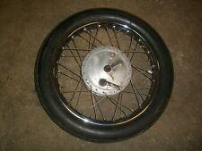"Royal Enfield Front Wheel Hub 19"" Rim Dunlop 750cc Interceptor 1968  73"