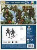 ALPINI ITALIAN MOUNTAIN TROOPS Italeri No.6059 1/72 Model Kit Figurini Storici