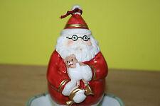Villeroy & Boch Festive Ornaments, Nikolaus m. Trompete, Baumbehang