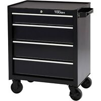 Tool Box Storage 4-Drawer Rolling Tool Cabinet with Ball-Bearing Slides, 26""