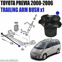 FOR TOYOTA PREVIA 2000-2006 TRAILING ARM BUSH FOR REAR AXLE SUBFRAME  x1