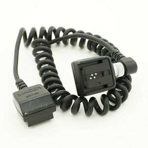 Minolta OC-1100 Off-Camera Cable with OS-1100 Flash Shoe Adapter