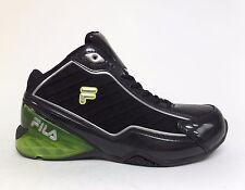 FILA Kids' Youth UNCONTESTED Basketball Shoes Black/Lime 3SB10063-030 a4 Size 7