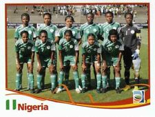 Panini FIFA World Cup 2011 Germany Women Sticker #65 Nigeria Team