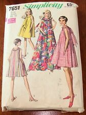 Vintage 1960's Dress Simplicity Sewing Pattern Size Large 16-18