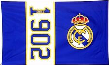 Real Madrid Fc Large Football Club Since 1902 Mast Flag Official Club Gift Rmfc