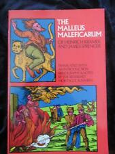THE MALLEUS MALEFICARUM. The Hammer of Witchcraft. Classic Text