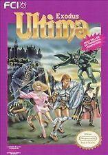 ULTIMA EXODUS CLASSIC SYSTEM ORIGINAL GAME NINTENDO NES HQ